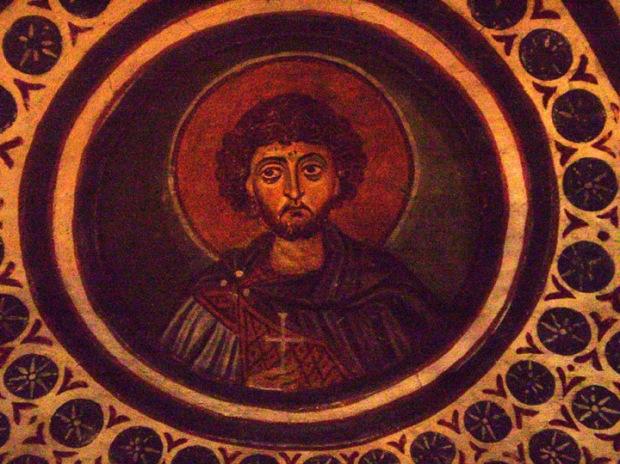 saint fresco