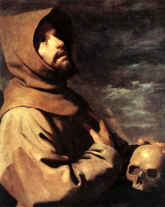 """Francisco de Zurbaran - """"St Francis"""""""
