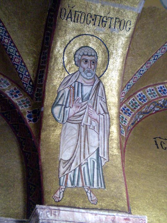 St. Peter mosaic