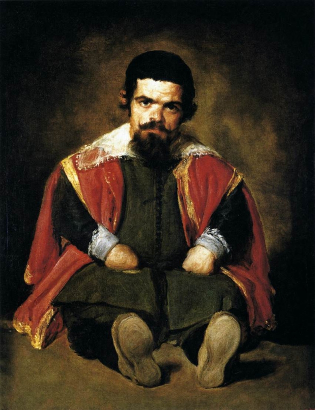 """The Dwarf Sebastian de Morra"""