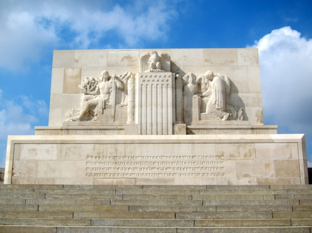 Memorial Monument - Somme American Cemetery
