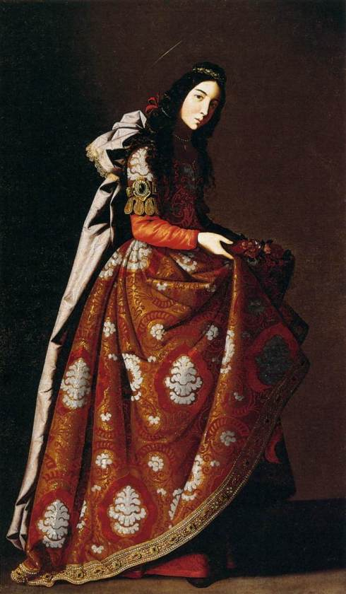 "Francisco de  Zurbaran - ""St Casilda"""