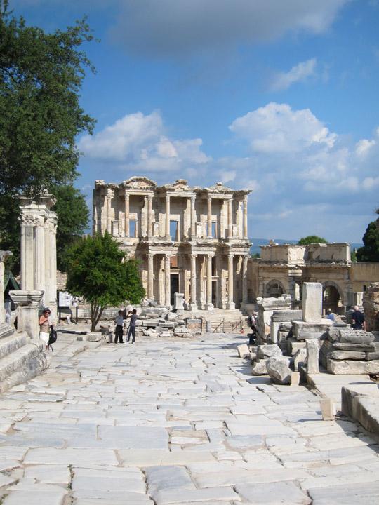 Ephesus empty roads