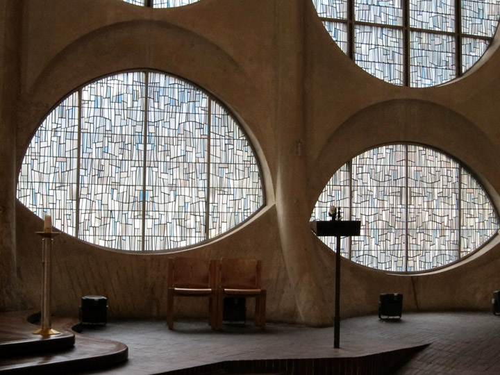 The Modernist Church Of St Joan Of Arc In Rouen