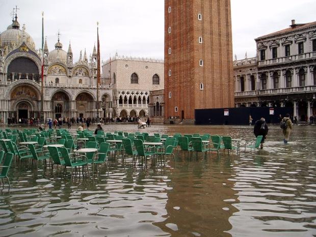 acqua alta San Marco