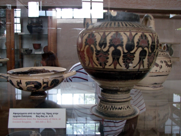 Artifacts from Museum Ancient Corinth, Greece