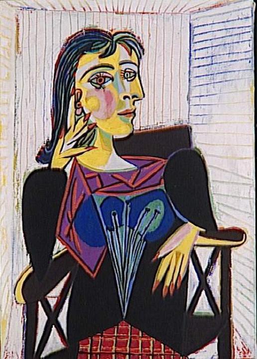 "Pablo Picasso - ""Portrait de Dora Maar"""