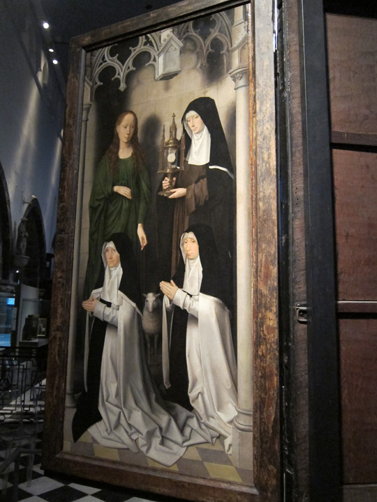 female saint panel
