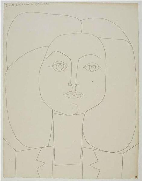 Picasso - Portrait de Françoise