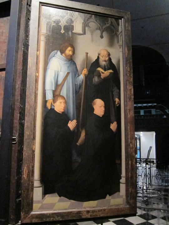 male saint panel