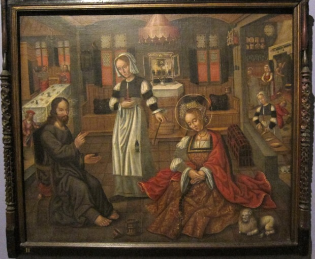 Christ with Martha and Mary