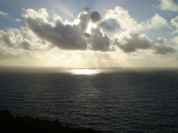 Sky from the Cliffs of Moher