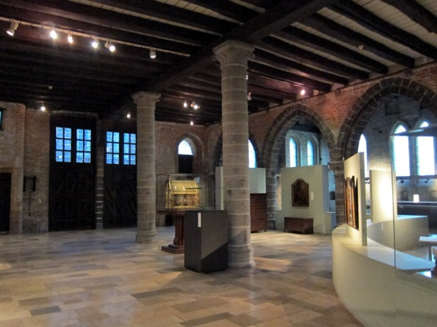 Main hall of the museum