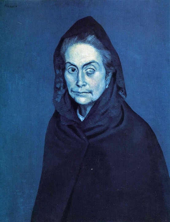 Picasso La Celestine (Woman with a Cataract)