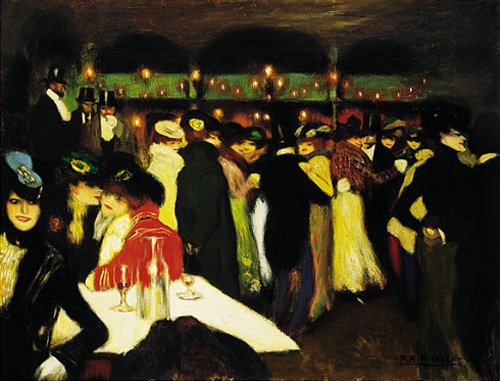 "picasso paris club, ""Le Moulin de la Galette"""