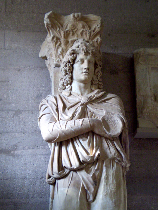 Prisoner column, Corinth