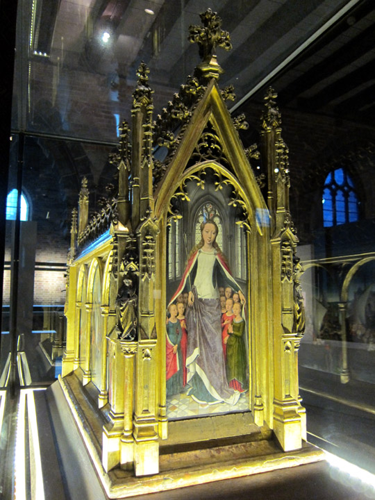 St. Ursala Reliquary by Hans Memling