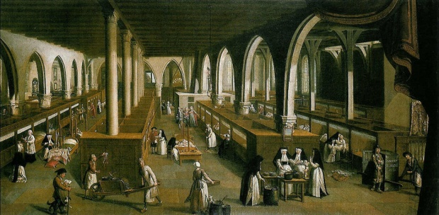 Sint-Janshospitaal, Saint John's Hospital patients