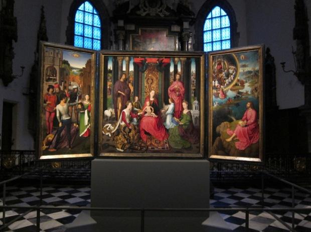 Hans Memling - St. John's Altarpiece