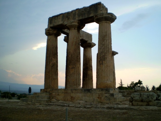 The Doric Temple of Apollo, Corinth