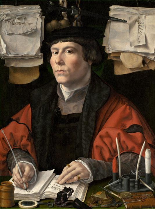Jan Gossaert - Portrait of a Merchant