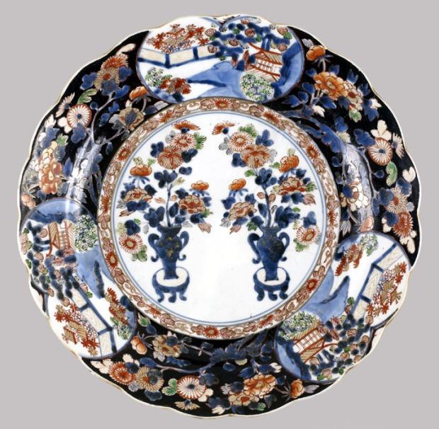 Japanese plate, Imari ware