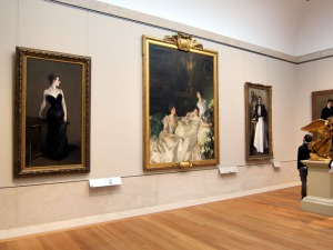 Madame X at the Metropolitan Musem of Art