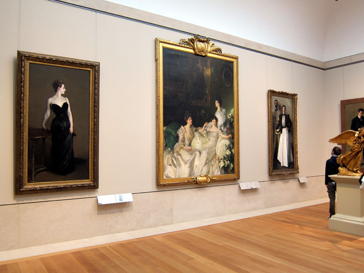 Madame X at the Metropolitan Musem of Art