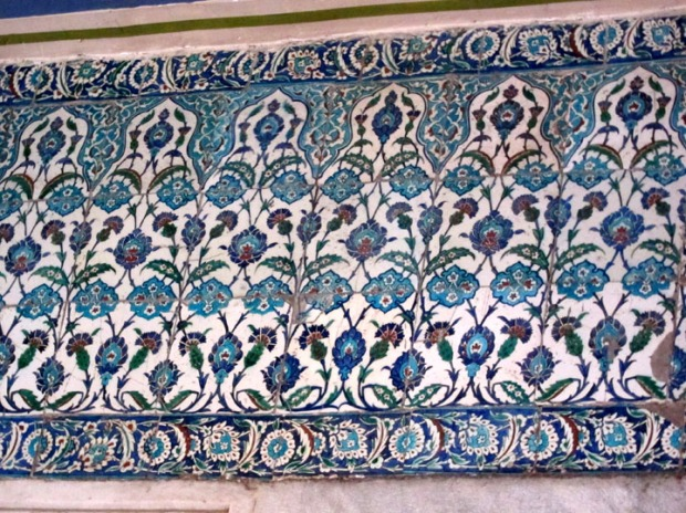 Blue mosque, Iznik tiles