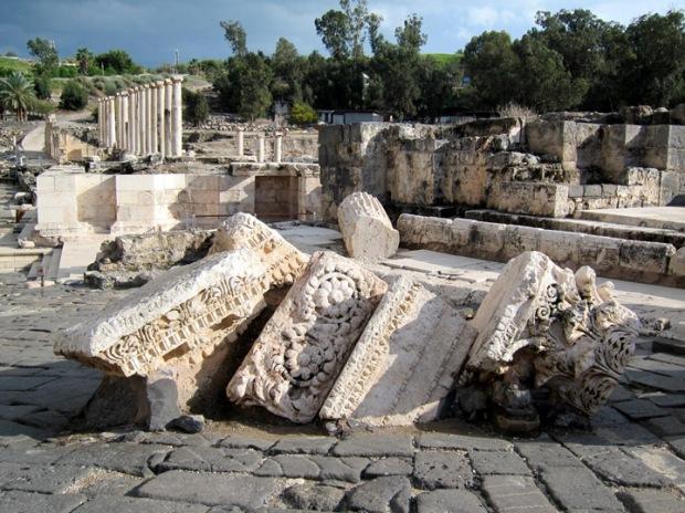 Beit She'an ruins