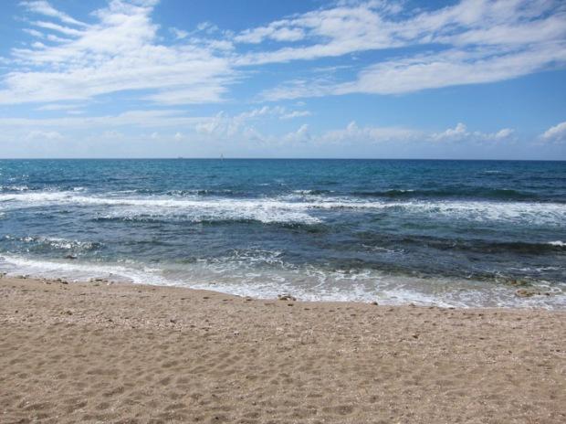 Caesarea beach, Israel
