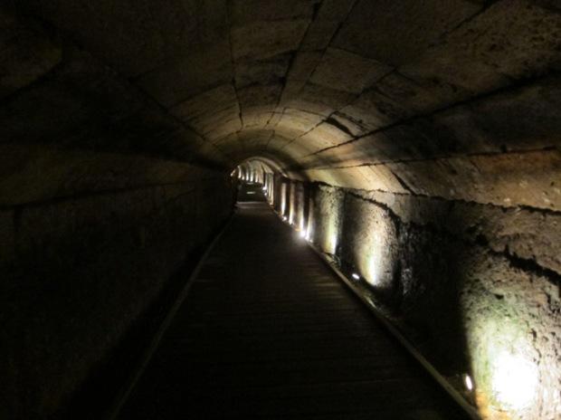 crusader tunnel