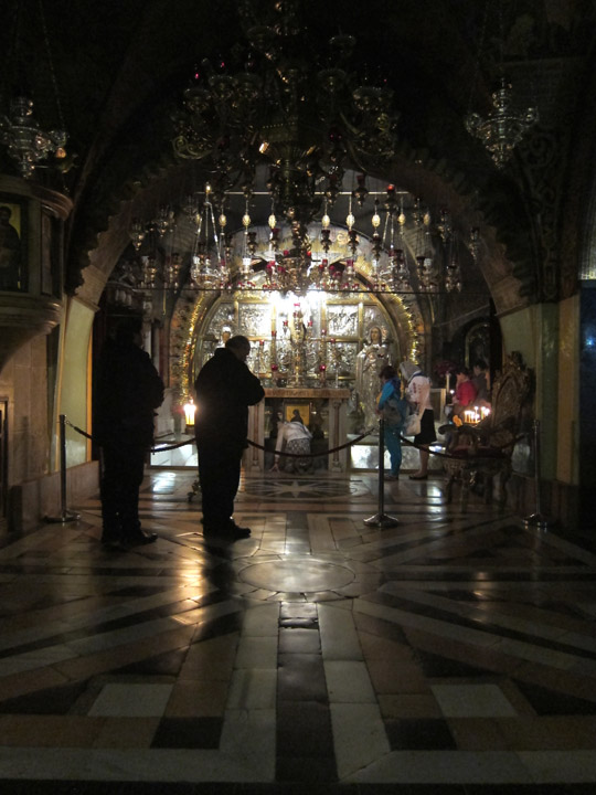 Golgotha within the Church of the Holy Sepulchre, Jerusalem