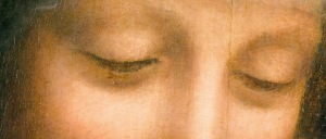 "Eyes of St. Anne from ""Virgin and Child with St. Anne"""