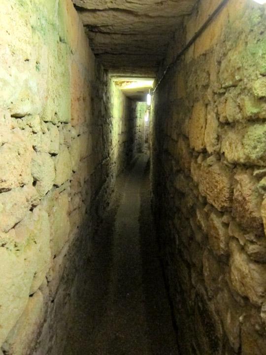 Crusader passageway