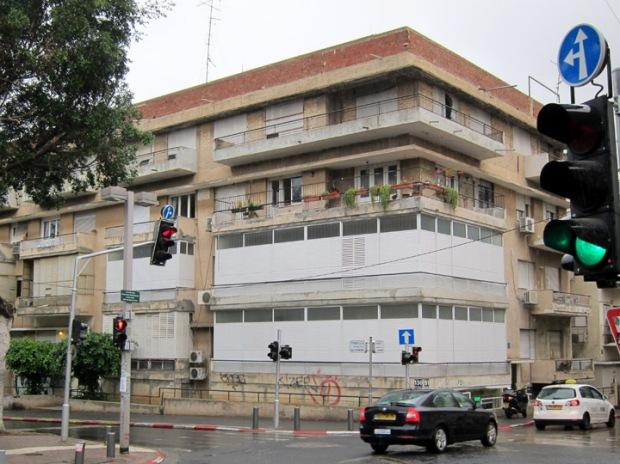 Tel Aviv Bauhaus repairs