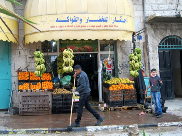 Fruit stand in Bethlehem
