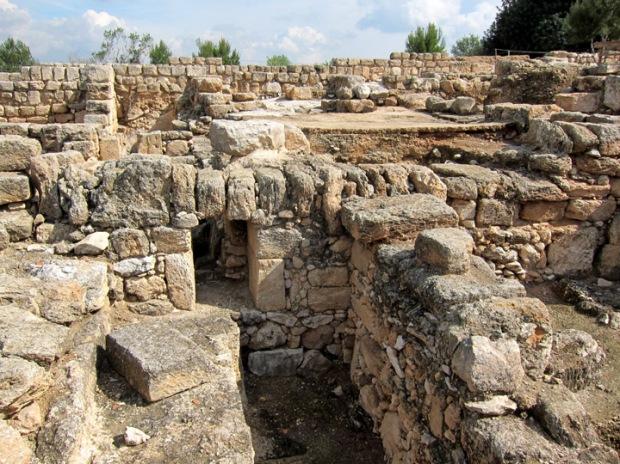city ruins, Sepphoris