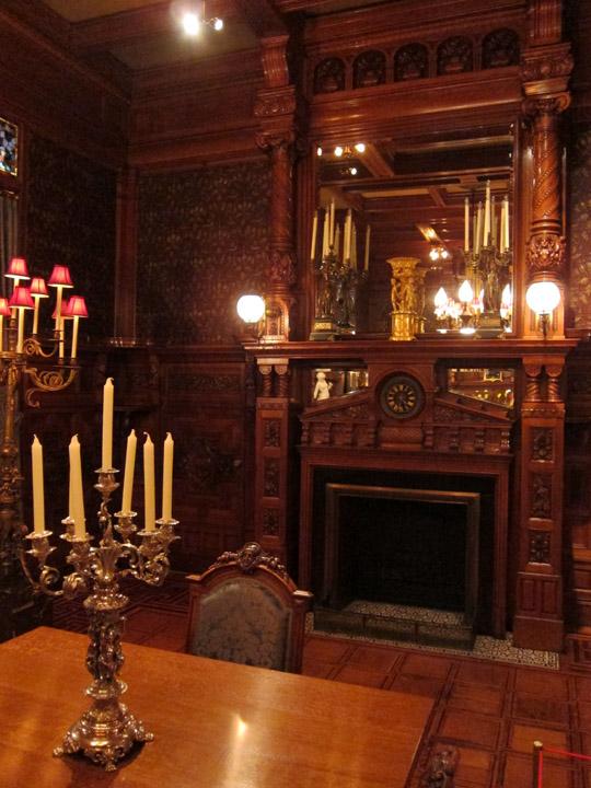 dining room, Driehaus Museum