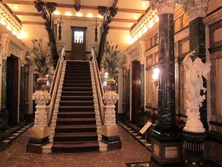front entry Driehaus Museum