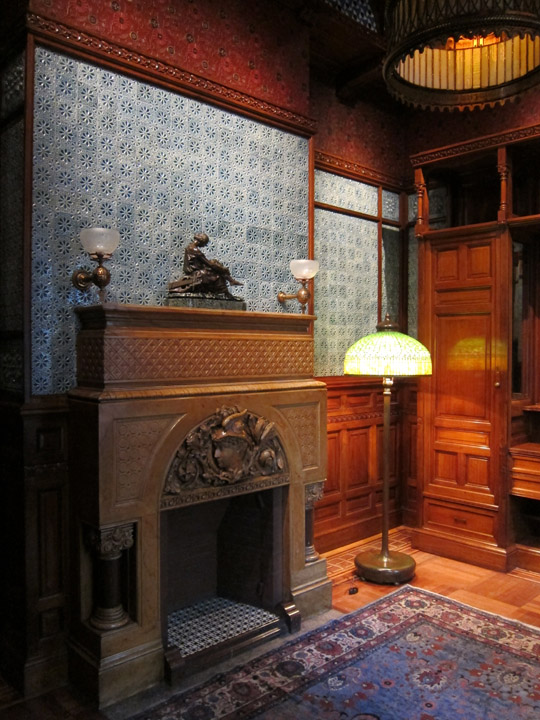 front room, Driehaus Museum