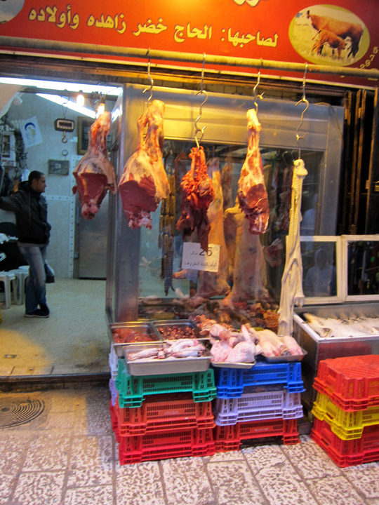 Jerusalem butcher shop