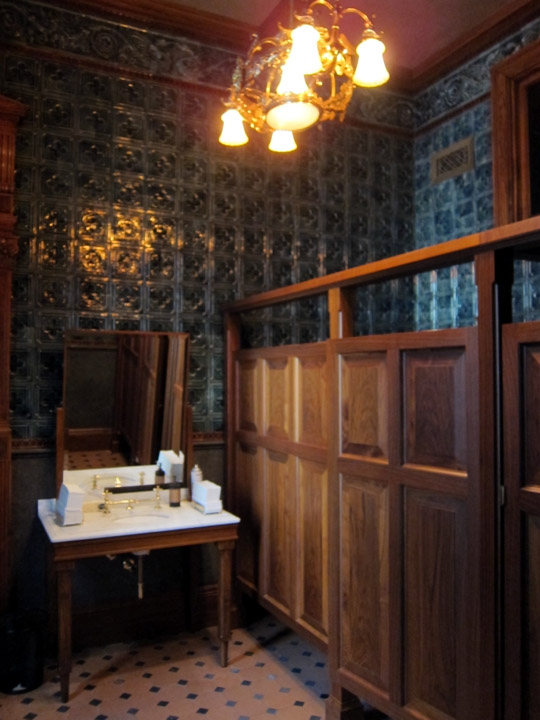 mensroom, Driehaus Museum