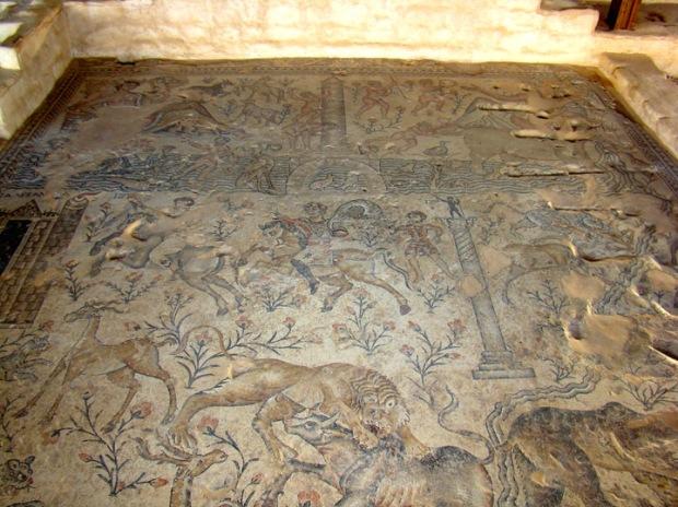 Nile House mosaic, Sepphoris
