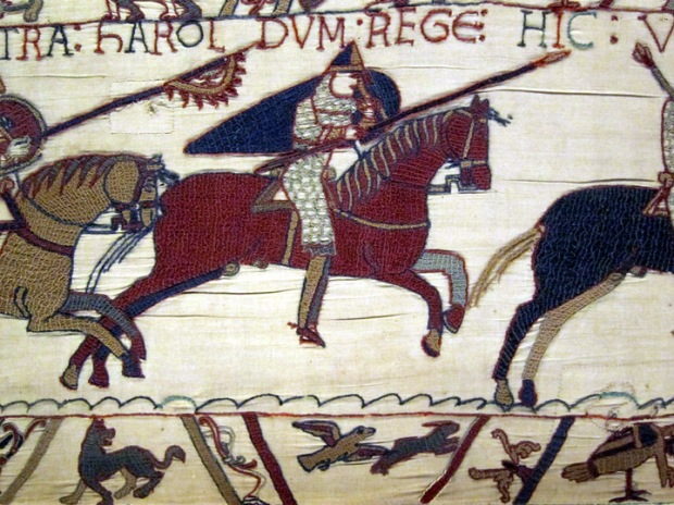 Norman Horseman, Bayeux Tapestry