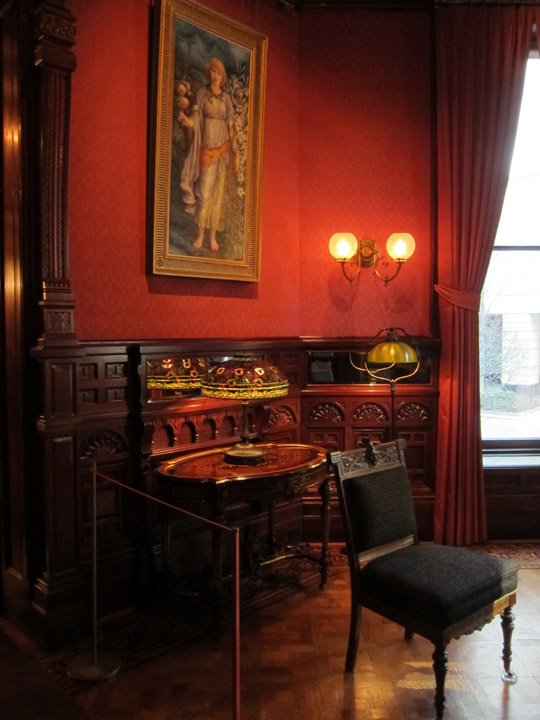 front parlor, Driehaus Museum