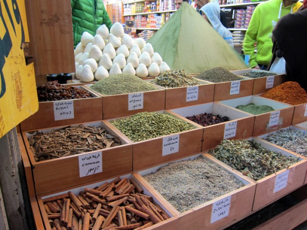 Spices in Jerusalem