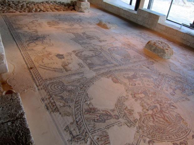 Synagogue mosaics, Sephhoris