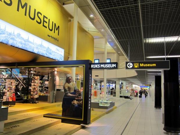 small Rijksmuseum, Schiphol airport Amsterdam