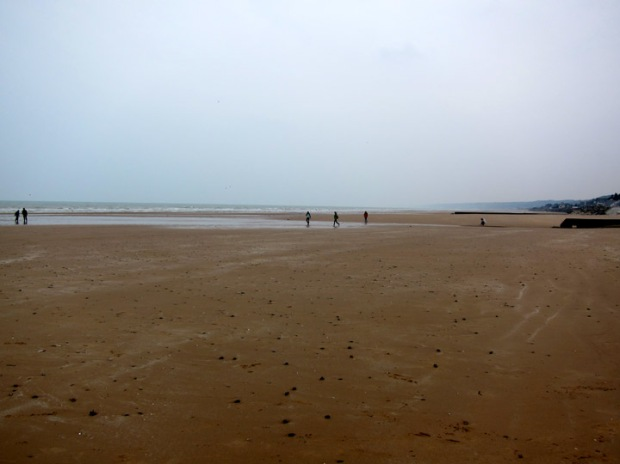 View to the East along Omaha Beach
